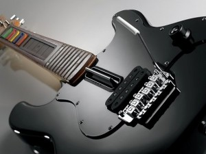 Wireless Guitar for PS3 and PS2