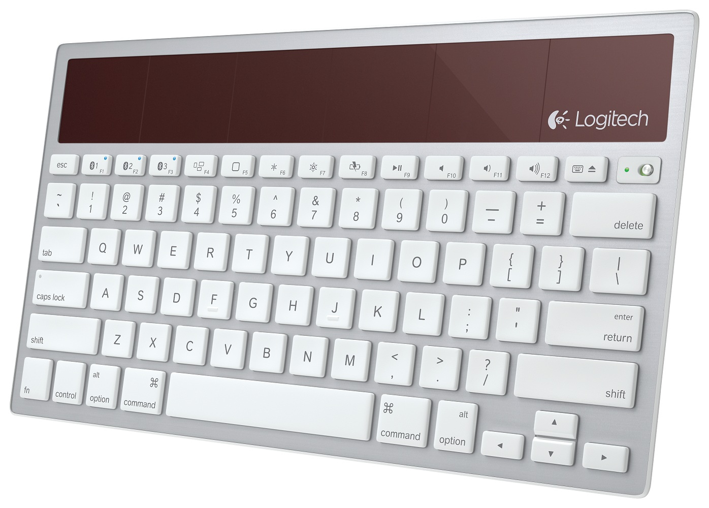 The Logitech Wireless Solar Keyboard