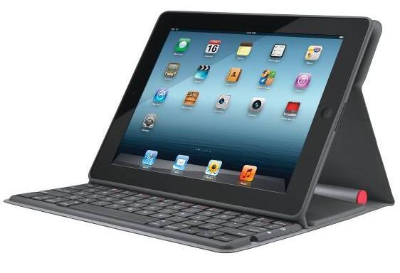 Solar Keyboard Folio - Solární klávesnice od Logitechu pro iPad