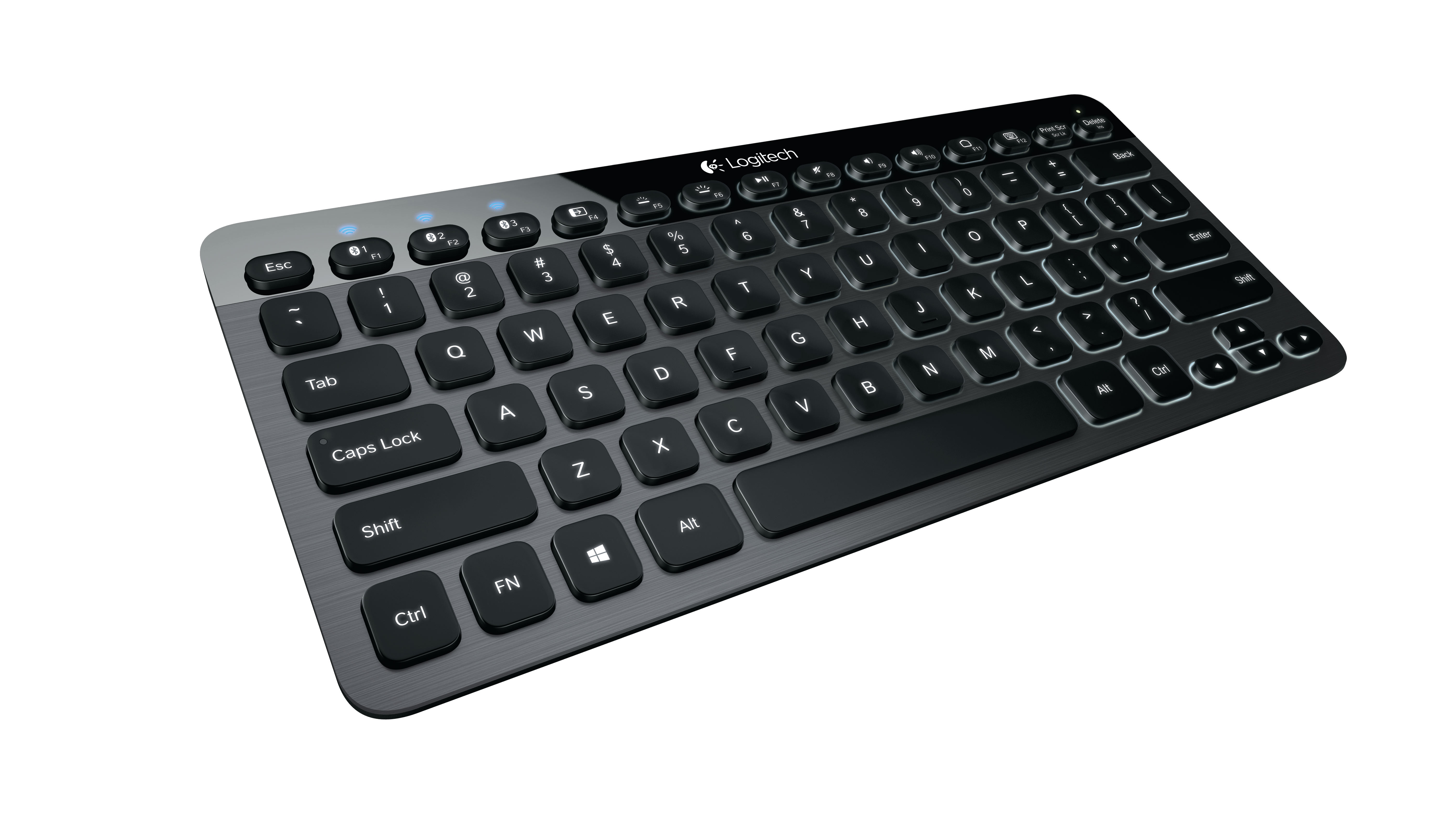 The Logitech Bluetooth Illuminated Keyboard K810: The Perfect Keyboard for  Multi-Tasking | logi BLOG