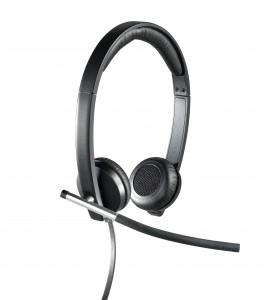 Logitech USB Headset Stereo H650e - right
