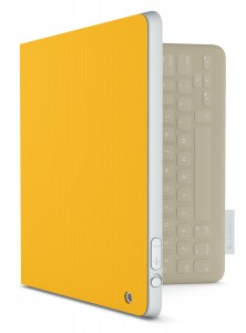 FabricSkin Folio in Sunflower Yellow