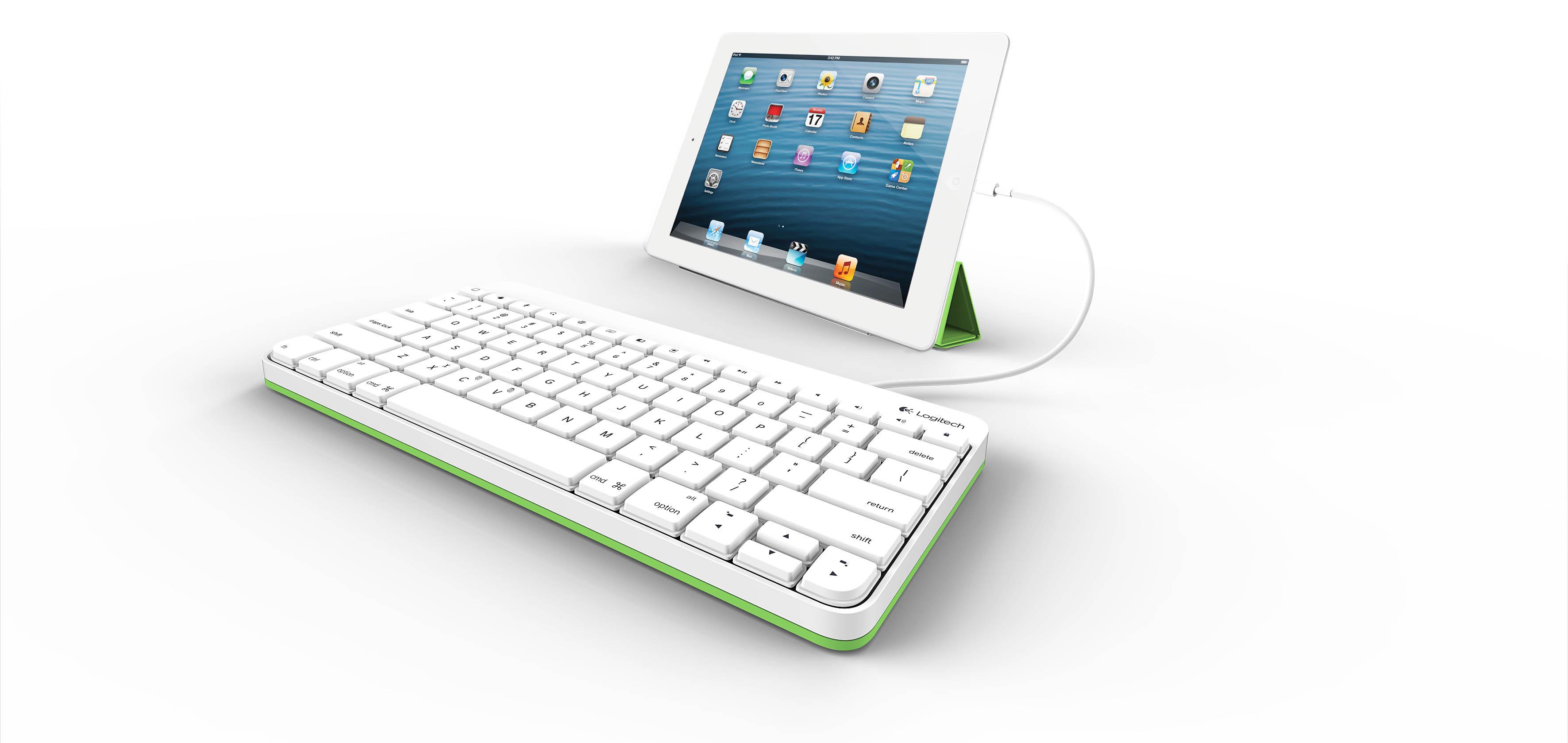 logitech tablet keyboard for ipad instructions
