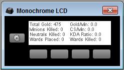 LoL Monochrome LCD