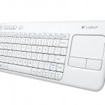 Logitech Releases Special Edition Logitech Touch Keyboard K400 in White