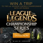 Win a VIP League of Legends World Championships Experience