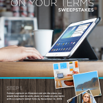 Enter our Work, Create, Study on Your Terms Sweepstakes