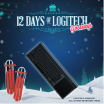 12 Days of Logitech Giveaways Facebook Sweepstakes