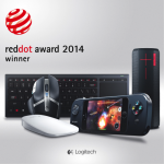 Five Logitech Products Honored in 2014 Red Dot Design Awards