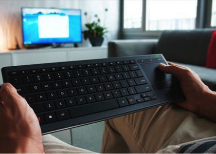 Logitech Living Room Keyboards: The Choice is Yours