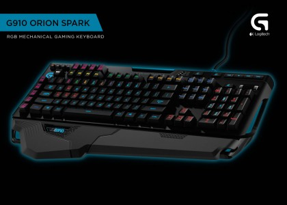 Logitech G Unveils the World's Most Advanced Mechanical Gaming Keyboard