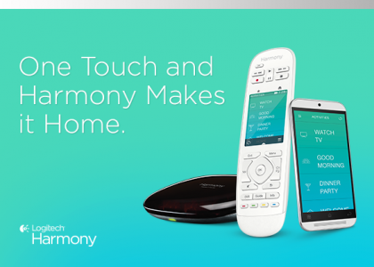 Logitech Gives You Unprecedented Control of Your Smart Home with the New Logitech Harmony Living Home Lineup