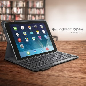 logitech type brings improved typing to the ipad air. Black Bedroom Furniture Sets. Home Design Ideas