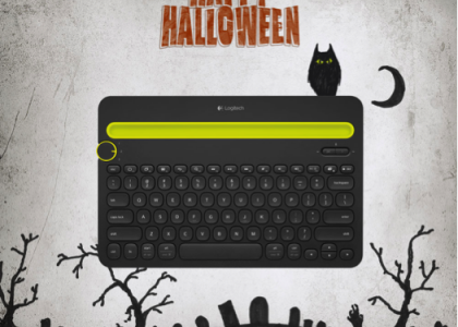 Happy #LogitechHalloween! Dress Up Tech for Treats This Year