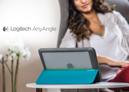 Adjust and Protect Your iPad Air 2 and iPad mini with the New Logitech AnyAngle