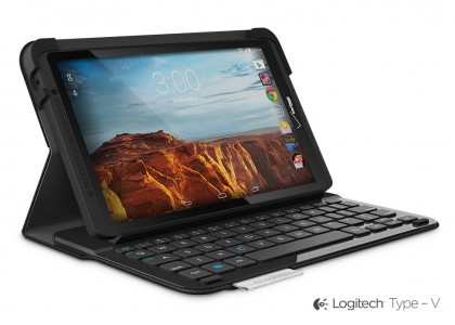 Protect Your New Verizon Ellipsis 8 Tablet and Type On the Go with the Logitech Type – V