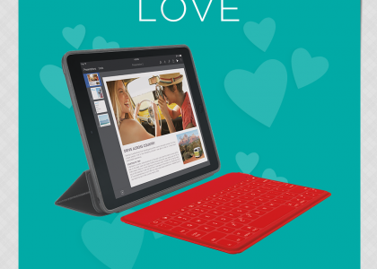 Spread the #LogitechLove this Valentine's Day for a Chance to Win!