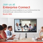 How Can Your Enterprise Improve Collaboration in One Simple Step? See Logitech at Enterprise Connect.