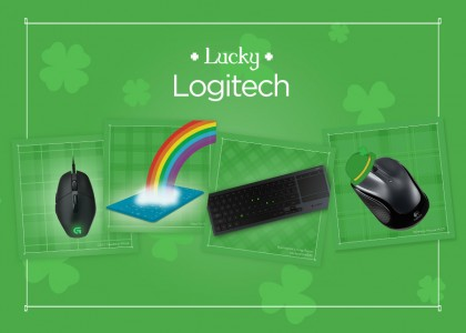 Get Lucky with Logitech For a Chance to Win!