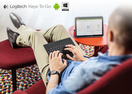 Logitech Unveils the Logitech Keys-To-Go Ultra-Portable Keyboard for Android and Windows Mobile Devices