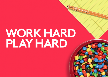 Work Hard or Play Hard: What will it be this school year?