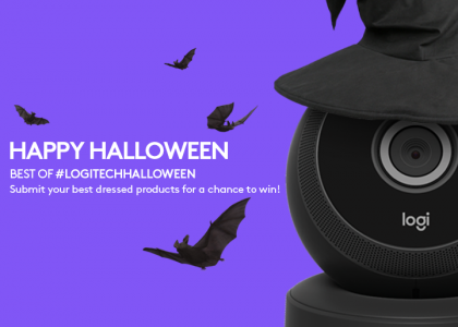 Your Tech Wants to Join the Costume Party!  Welcome to #LogitechHalloween