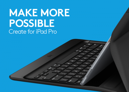 Outfit Your iPad Pro with Logi CREATE for Next-level Productivity