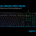 Introducing Our New Logitech G810 Orion Spectrum RGB Mechanical Gaming Keyboard