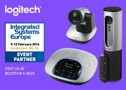 Logitech Video Collaboration at ISE 2016