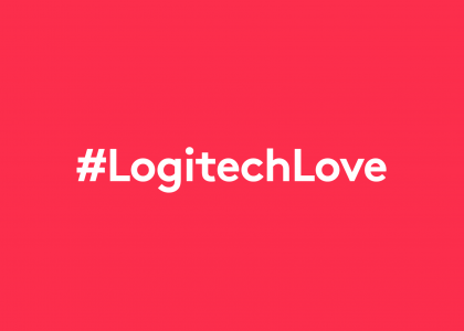 Share the #LogitechLove this Valentine's Day
