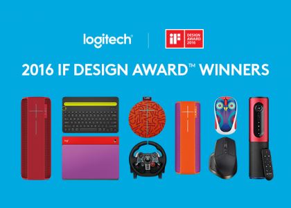 Logitech Honored With Eight 2016 iF DESIGN AWARDS