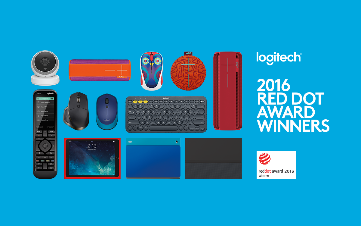 Logitech Sets Company Record With Nine Red Dot 2016 Product Design