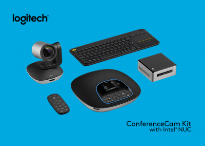 Bundle Up: Introducing Logitech® ConferenceCam Kit