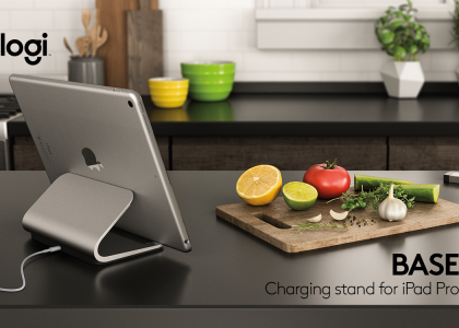 Introducing Logi BASE: The First Charging Stand for Your iPad Pro