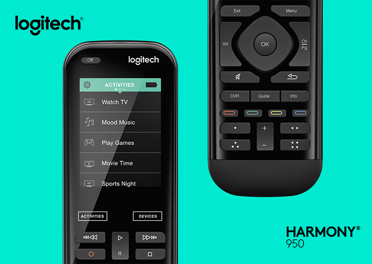 Image result for logitech harmony 950