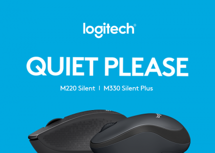 Silence is Golden with the Logitech M330 Silent Plus and Logitech M220 Silent
