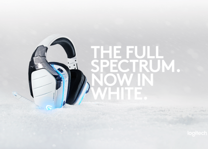 Introducing Logitech G933 Artemis Spectrum Snow 7.1 Wireless Gaming Headset