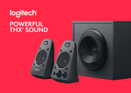 Introducing the Logitech Z625 Powerful THX Sound