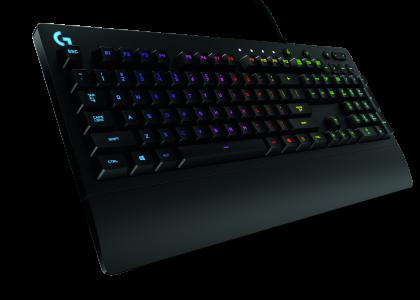 The G213 Prodigy RGB Gaming Keyboard