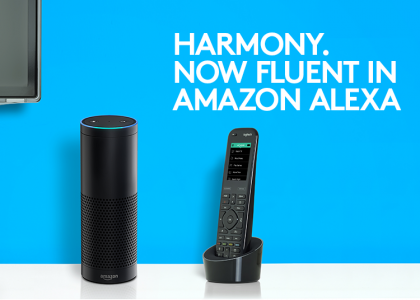 Logitech Harmony Expands Skills for Amazon Alexa