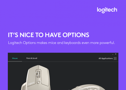 Logitech Options makes mice and keyboards even more powerful