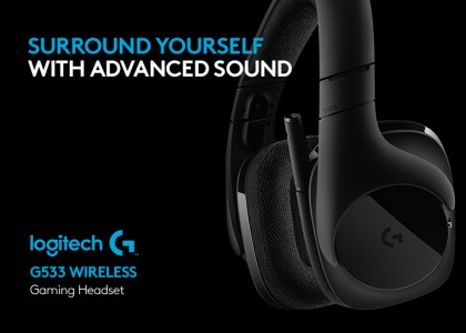 Logitech G G533 Wireless Gaming Headset | logi BLOG