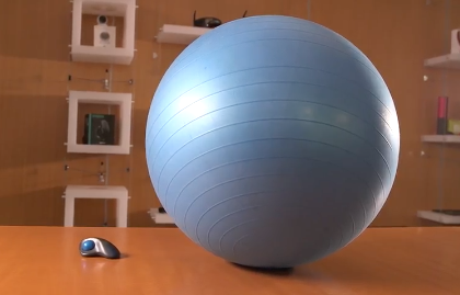 Have a Ball with the Logitech Human Trackball