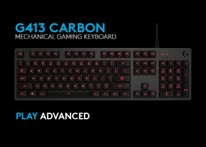 Introducing the new Logitech G413 Mechanical Gaming Keyboard