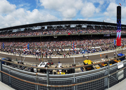 A Gamer's Experience at the Indy 500