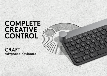 Introducing Our New Flagship Keyboard: The Logitech CRAFT Advanced Keyboard with Creative Input Dial