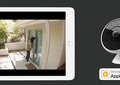 Logitech Circle 2 Wired Cameras Now Work With Apple® HomeKit™