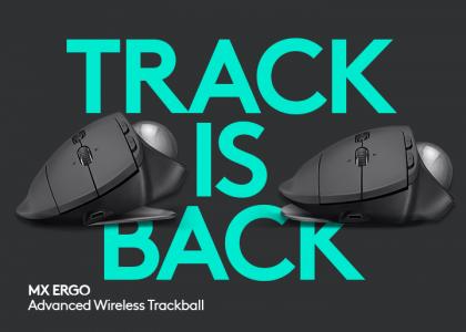 The Trackball is Back With Logitech's MX ERGO