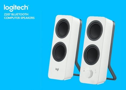Logitech's New Z207 Bluetooth® Computer Speakers For Under $50