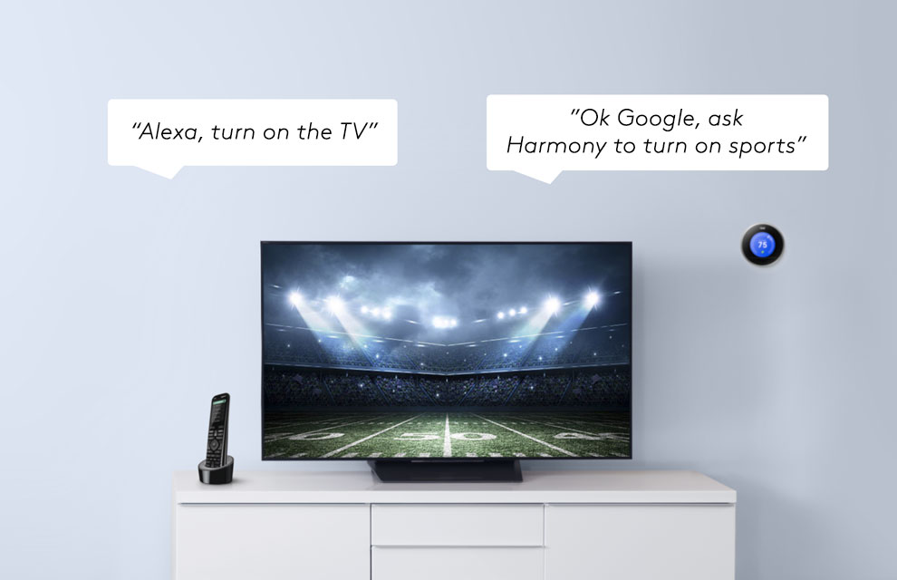 ef08cec2378 Today, we're thrilled to share that customers in Canada will be able to  control their favourite TV entertainment using their voice and any Logitech  Harmony ...